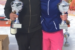 Vereinsmeister 2018 Kombinationswertung: Sina Haas und Armin Hasler
