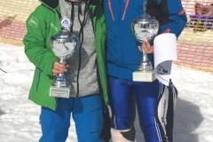 Vereinsmeister 2018 Einzelwertung: Andrea Krauter und Dominik Scholler