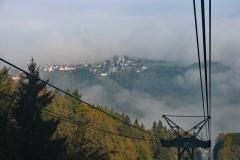Imposanter Blick aus der Gondel der Schauinslandbahn