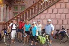 Die Radgruppe in Mulhouse